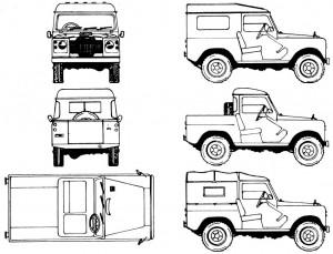 land Rover 88-110 Ankauf